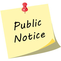Public Notice No: 36/2016 - SAD PRINTING